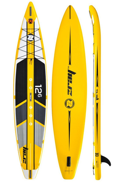 "Zray R1 racing 12'6"" inflatable paddle board review"