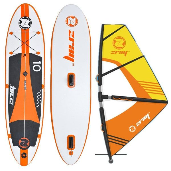 Zray w1 & w2 Windsurf Inflatable Paddle Board review