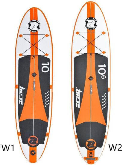 Zray W1 & W2 Windsurf Inflatable Stand up Paddle Board review