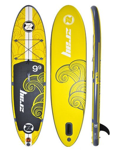 "Z-Ray X1 9'9"" All Around inflatable Stand Up Paddle Board Review"