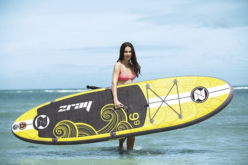 Zray X1 inflatable stand up paddle board