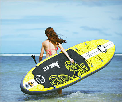 "Zray X2 10'10"" inflatable paddle board review"