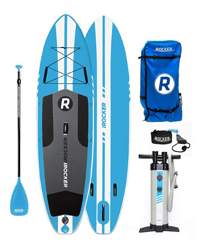 iROCKER ALL AROUND Inflatable Stand Up Paddle Board Review