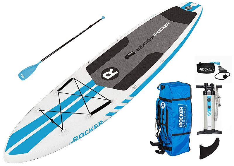 iROCKER ALL-AROUND Inflatable paddle board Review