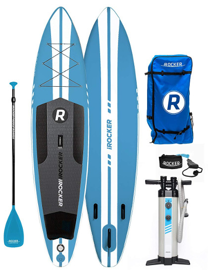 iROCKER 11' SPORT Inflatable Stand Up Paddle Board Review