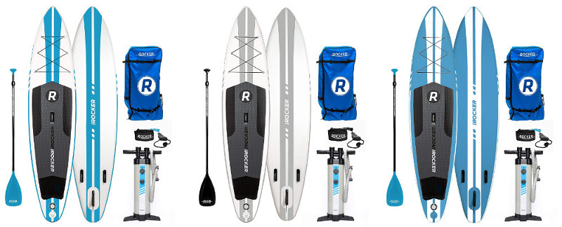 iROCKER Inflatable SPORT Stand Up Paddle Board Review