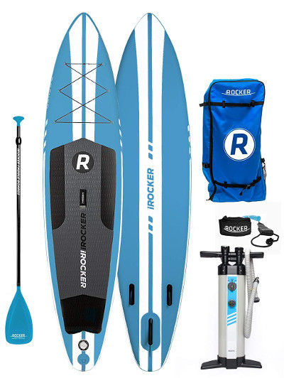 iROCKER SPORT Inflatable Stand Up Paddle Board Review