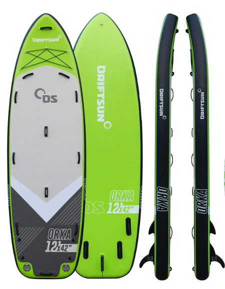 Driftsun Orka 12' inflatable paddle board review