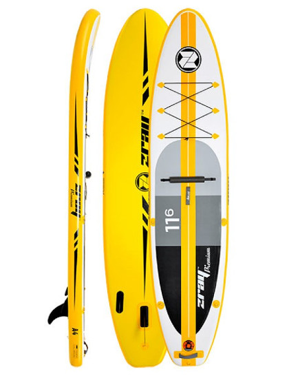 Zray A4 inflatable standup paddle board Review