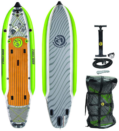 Airhead SUP Bonefish 1138 inflatable stand up paddle board Review