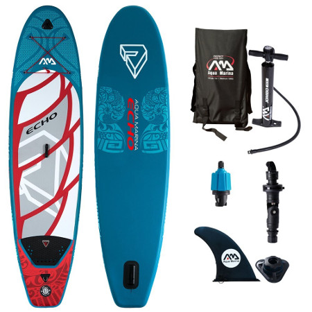Aqua Marina Echo inflatable paddle board Review - Package