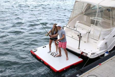Aqua Marina Inflatable Floating Dock review