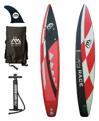 Aqua Marina Race Competitive Inflatable Stand-up Paddle Board review