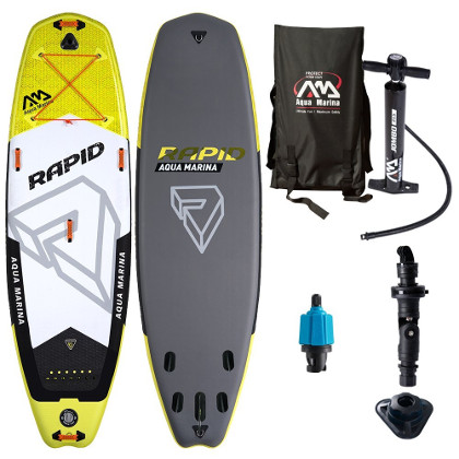 Aqua Marina Rapid Inflatable Stand up Paddle Board Review