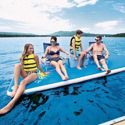 Bestway Sun Deck Inflatable dock Review
