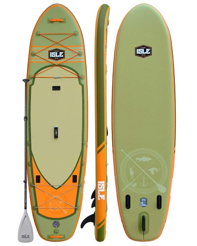 "ISLE Sportsman 11'6"" Inflatable Fishing Paddle Board Review"