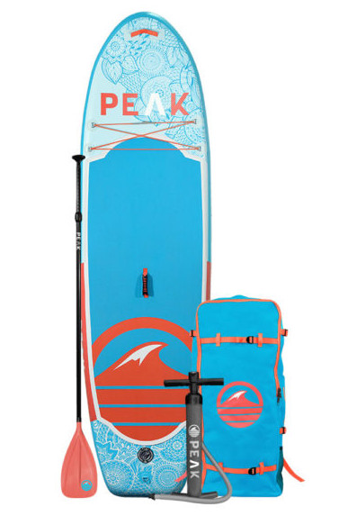 PEAK 10' Yoga Fitness Inflatable Stand Up Paddle Board review