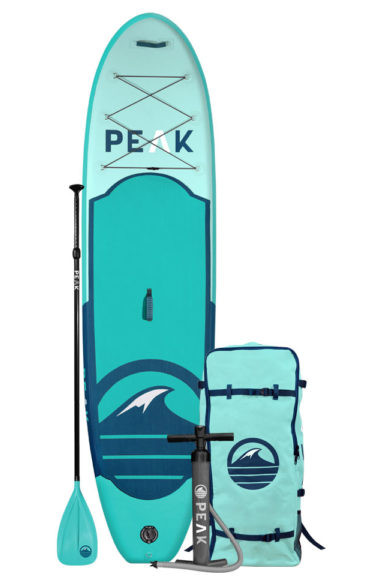 """Peak All Around 10'6"""" Inflatable Paddle Board Review"""