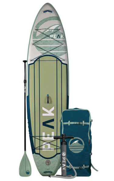Peak 11' Expedition Inflatable Paddle Board Review