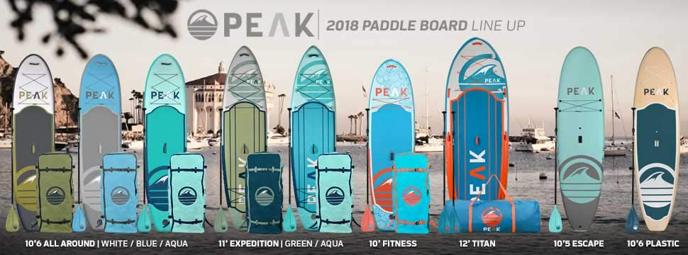 Peak inflatable paddle boards review