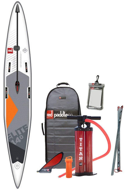 RED Paddle ELITE Race inflatable SUP board review