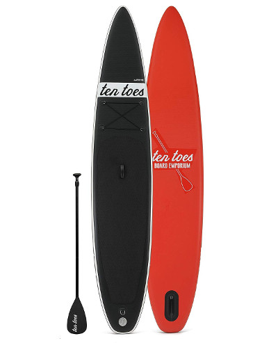 Ten Toes Jetsetter inflatable sup race board review