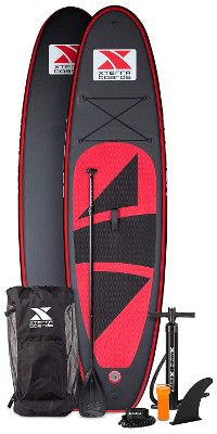 XTERRA Inflatable 10' Stand Up Paddle Board review