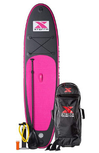XTERRA board pink Inflatable SUP review
