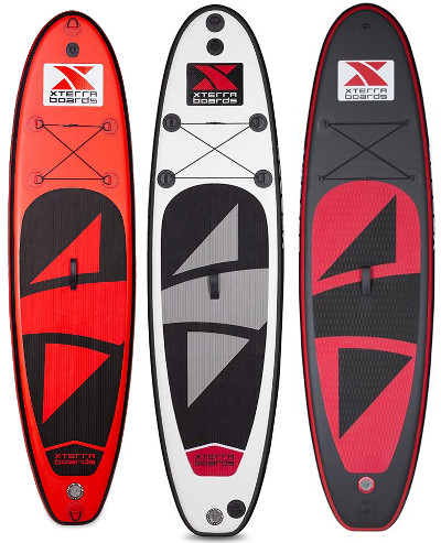 XTERRA Boards - Inflatable 10' Stand Up Paddle Board review
