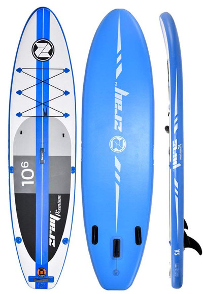 Zray A2 inflatable stand up paddle board Review