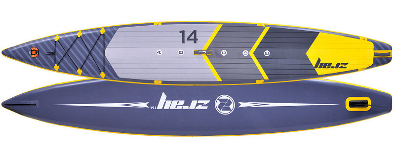 Zray R2 14' Racing inflatable paddle board Review