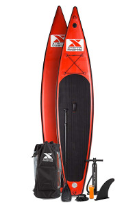 """XTERRA 12'6"""" Touring inflatable paddle board"""