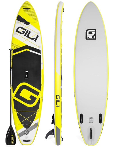 GILI Sports 11' Adventure inflatable SUP