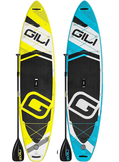 GILI Sports 11' Adventure inflatable paddle board