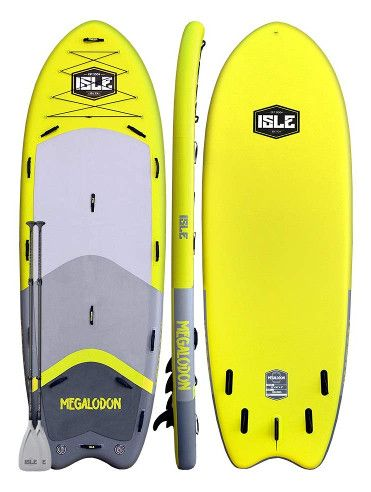 ISLE Megalodon Inflatable Paddle Board Review