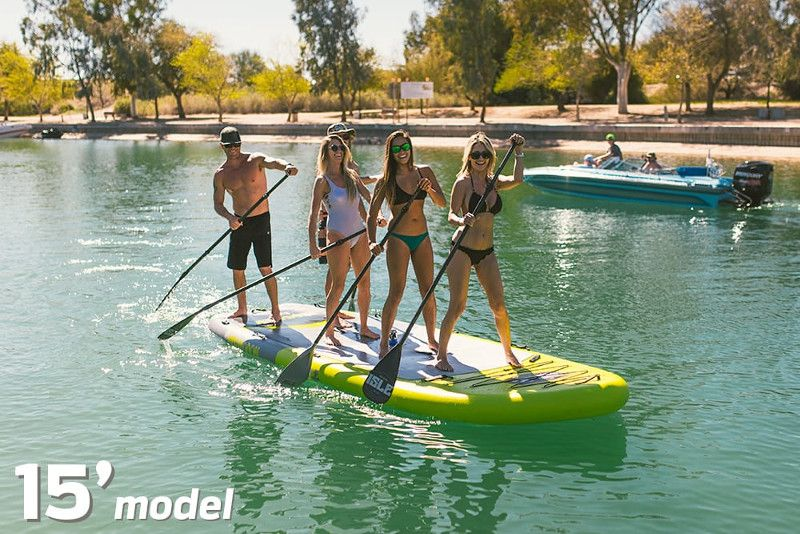 ISLE Megalodon inflatable stand up paddle board review