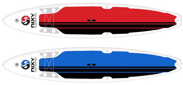 """NIXY 12'6"""" Manhattan Touring inflatable SUP Board"""