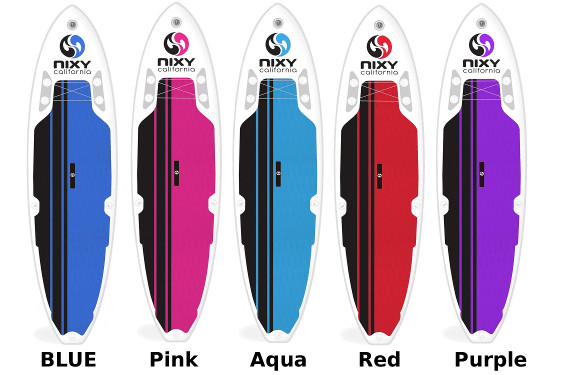 """NIXY Newport 10'6"""" Inflatable SUP Board - Color Options"""