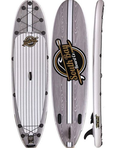 """South Bay Board Co 10'6"""" Aqua Discover inflatable paddle board Review"""