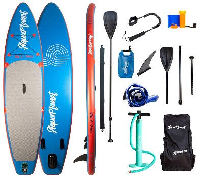 "Aquaplanet 10'6"" Pace inflatable SUP Review"