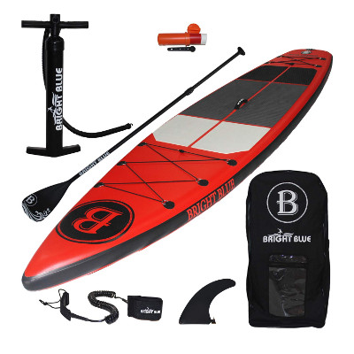 "BRIGHT BLUE Fusion 11'6"" All Round Inflatable SUP Review"