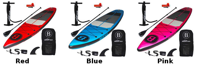 BRIGHT BLUE Fusion All Round inflatable SUP Review