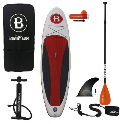 """BRIGHT BLUE 10'6"""" Inflatable Paddle Board Review"""