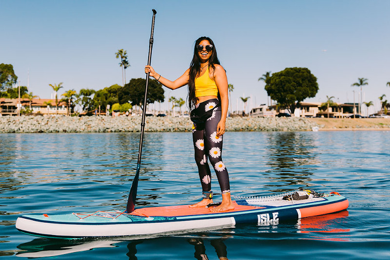 ISLE Explorer inflatable sup review
