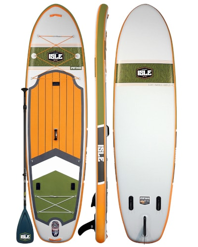 ISLE Sportsman Inflatable Paddle Board Review