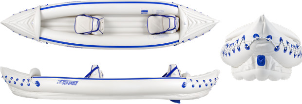 Sea Eagle SE370 inflatable Kayak Review