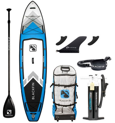 BLACKFIN Model XL inflatable SUP - Package
