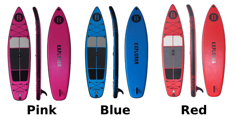 "Bright Blue 11'6"" inflatable SUP Board Review"