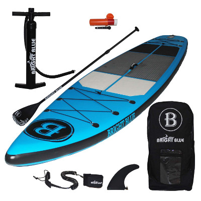 "Bright Blue 11'6"" inflatable SUP - Package"