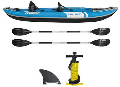 Driftsun Voyager 2 Person Tandem Inflatable Kayak Review